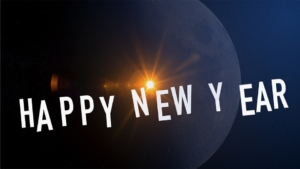 Frohes neues Jahr in verschiedenen Sprachen
