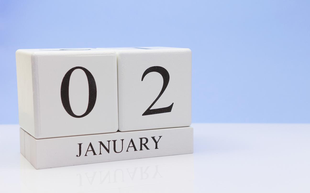 Neujahrsgrüße nachträglich