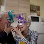 Neujahrswünsche für Oma und Opa