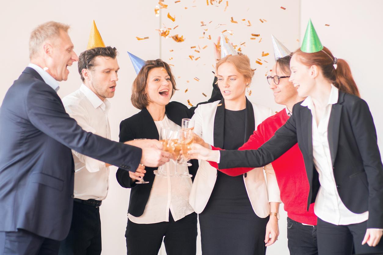 Neujahrswünsche an Mitarbeiter