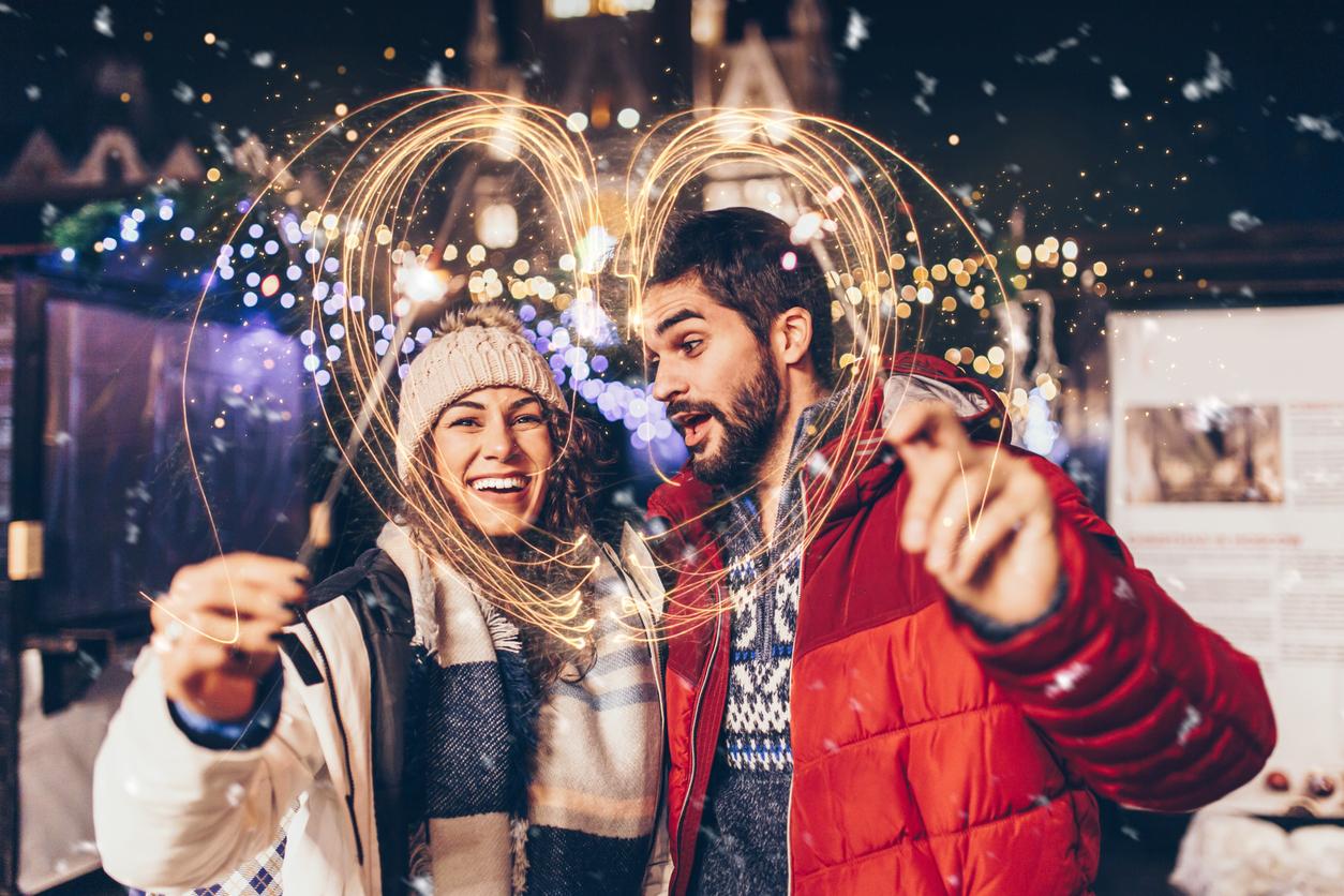 Neujahrsgedichte für Verliebte