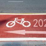 Neujahrswünsche für Radfahrer