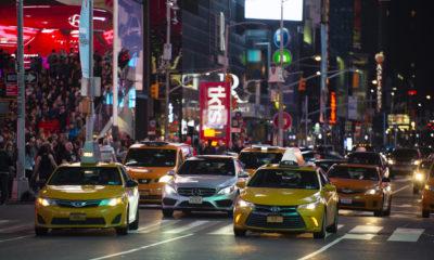 Neujahrswünsche für Taxifahrer