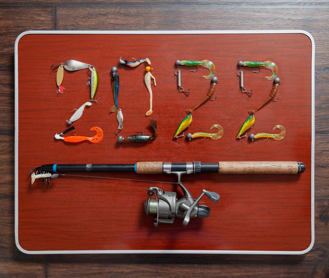 Neujahrswünsche für Angler