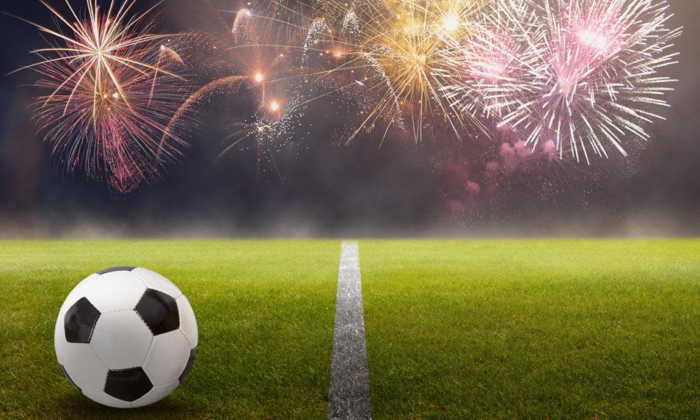 Neujahrssprüche über Fußball